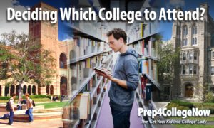 P4C-Decide which college to go to